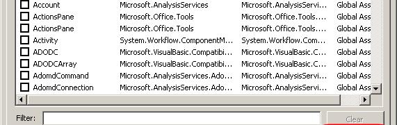 adding custom SSIS transformation to visual studio toolbox fails